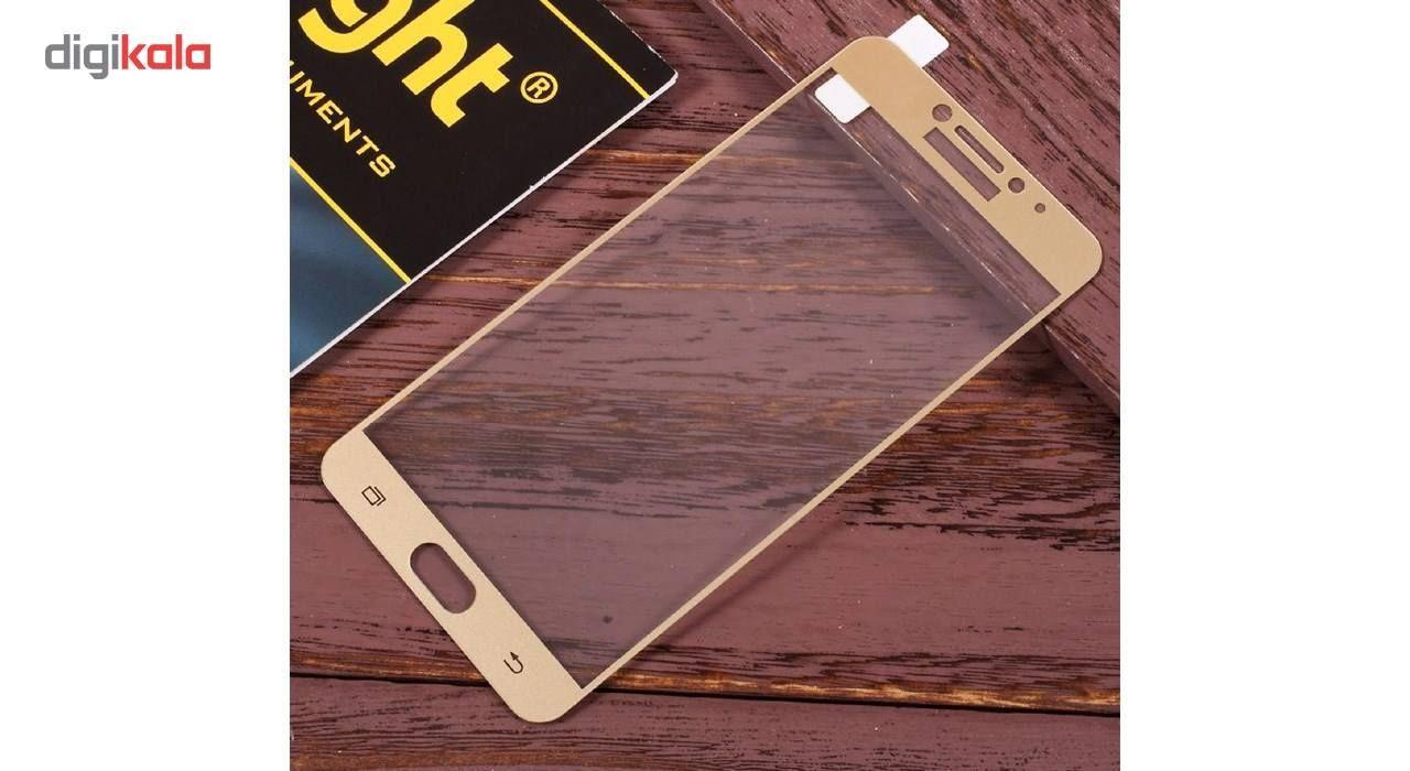 محافظ صفحه نمایش شیشه ای کینگ کونگ مدل Hyper Fullcover مناسب برای سامسونگ C5 Pro main 1 3