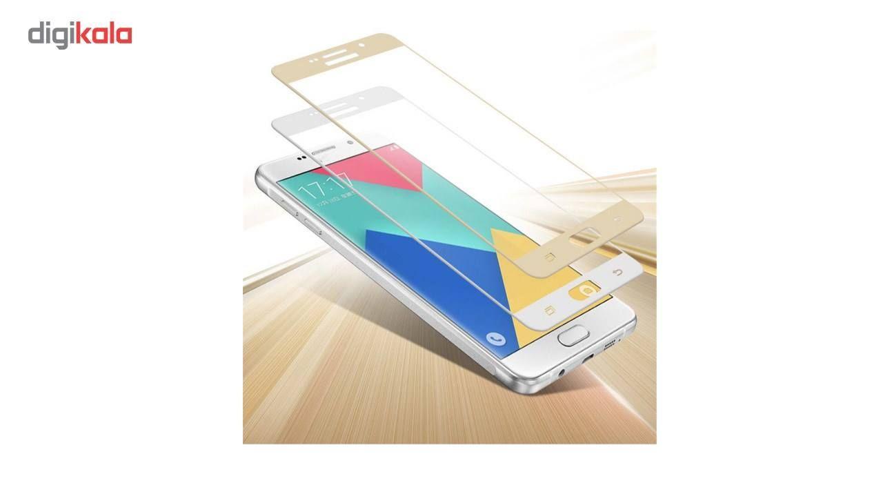 محافظ صفحه نمایش شیشه ای کینگ کونگ مدل Hyper Fullcover مناسب برای سامسونگ گلکسی J7 2016 /J710 main 1 2