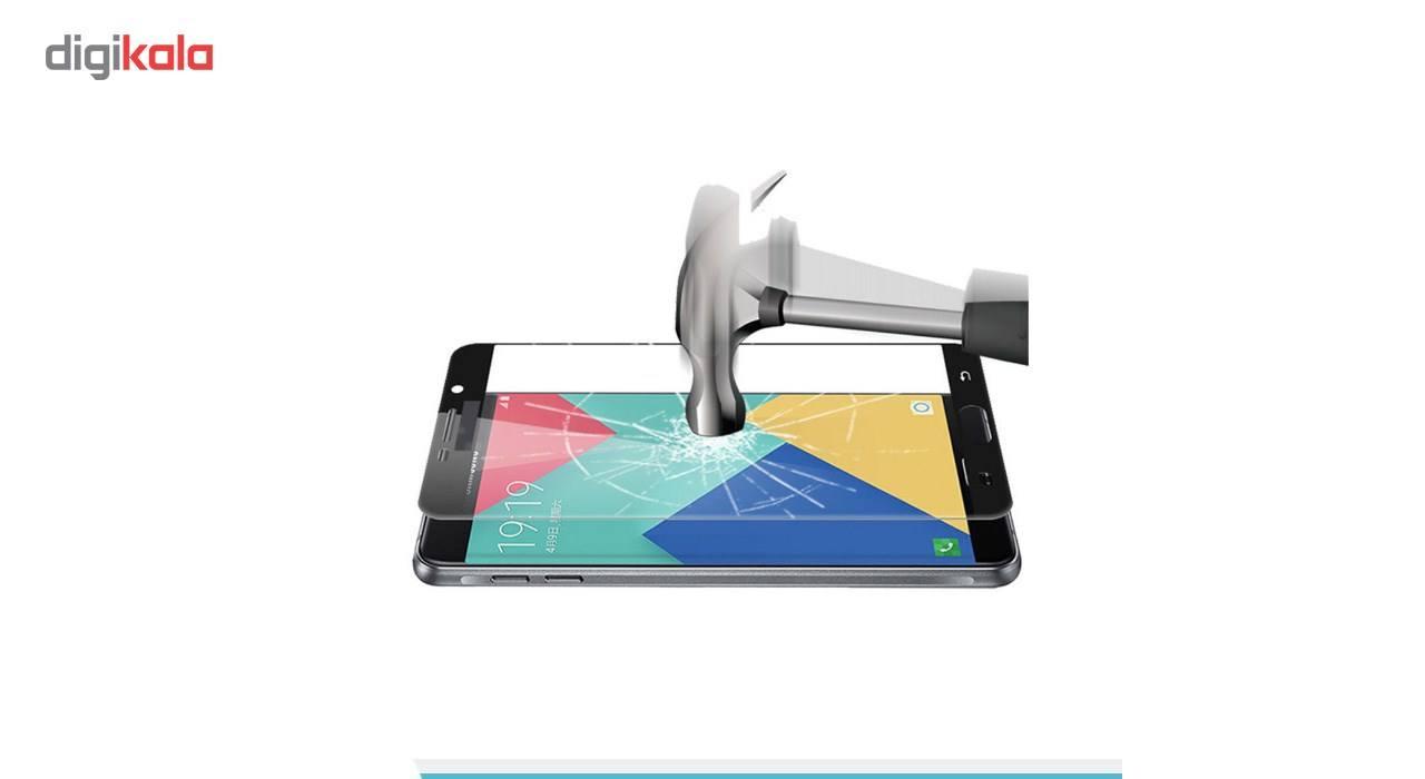 محافظ صفحه نمایش شیشه ای کینگ کونگ مدل Hyper Fullcover مناسب برای سامسونگ گلکسی J7 2016 /J710 main 1 3
