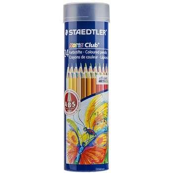 مداد رنگی 24 رنگ استدلر مدل نوریس کلاب