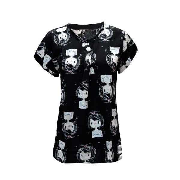 تی شرت زنانه کد 3346