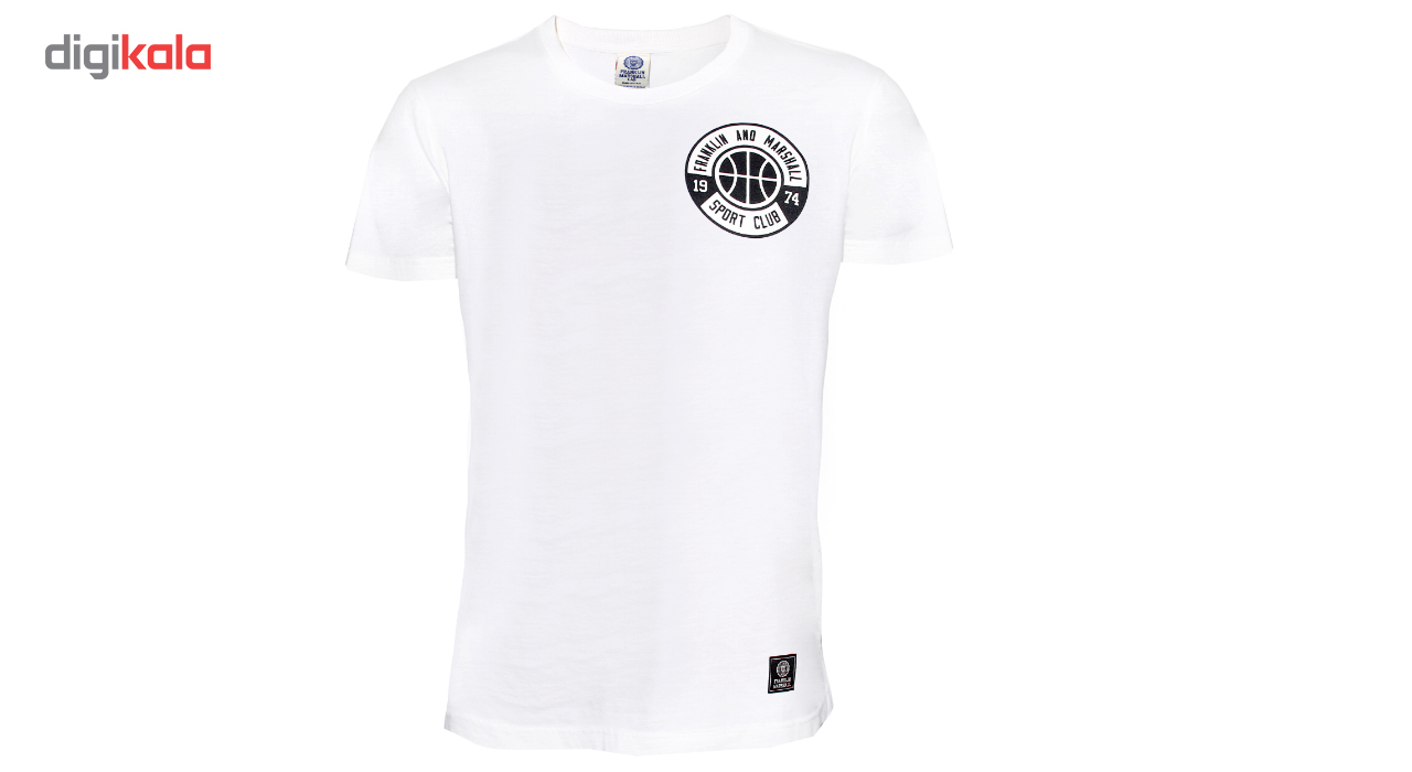 تی شرت مردانه فرانکلین مارشال مدل Jersey کد 266W
