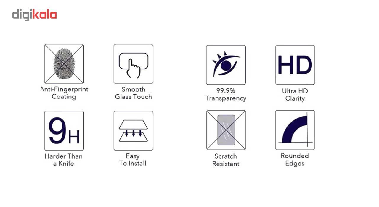 محافظ صفحه نمایش شیشه ای کینگ کونگ مدل Hyper Fullcover مناسب برای گوشی ال جی K10 2016 main 1 8