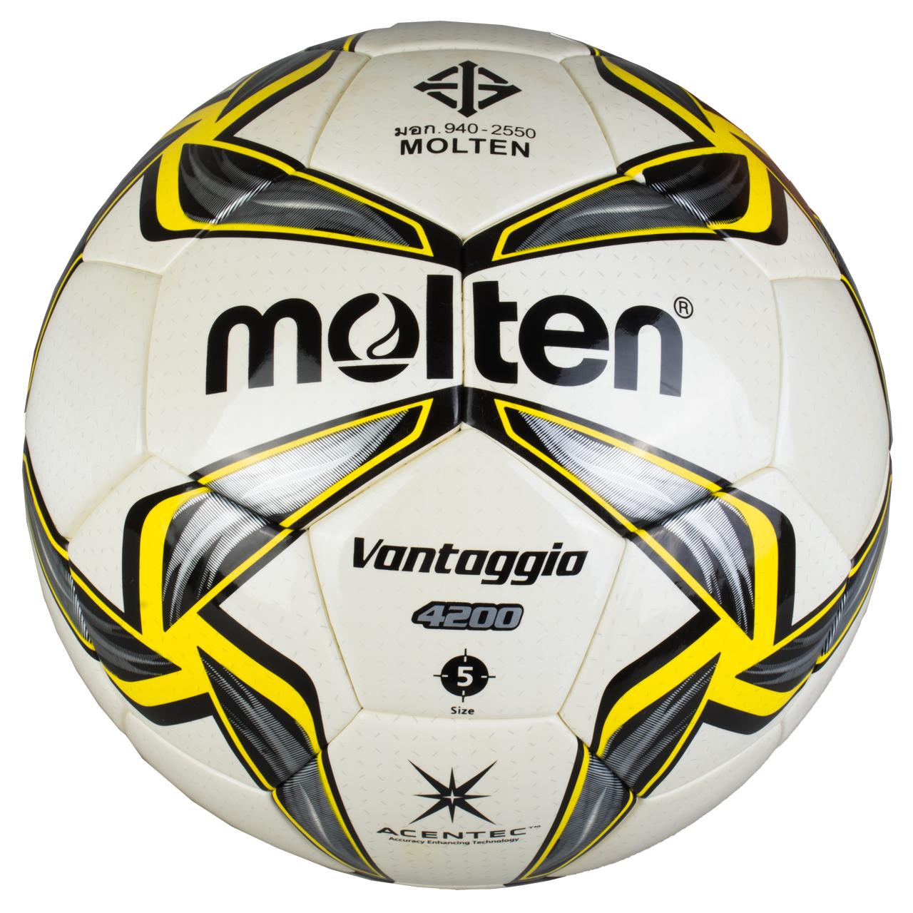 توپ فوتبال مولتن سری Vantaggia مدل F5V4200 |