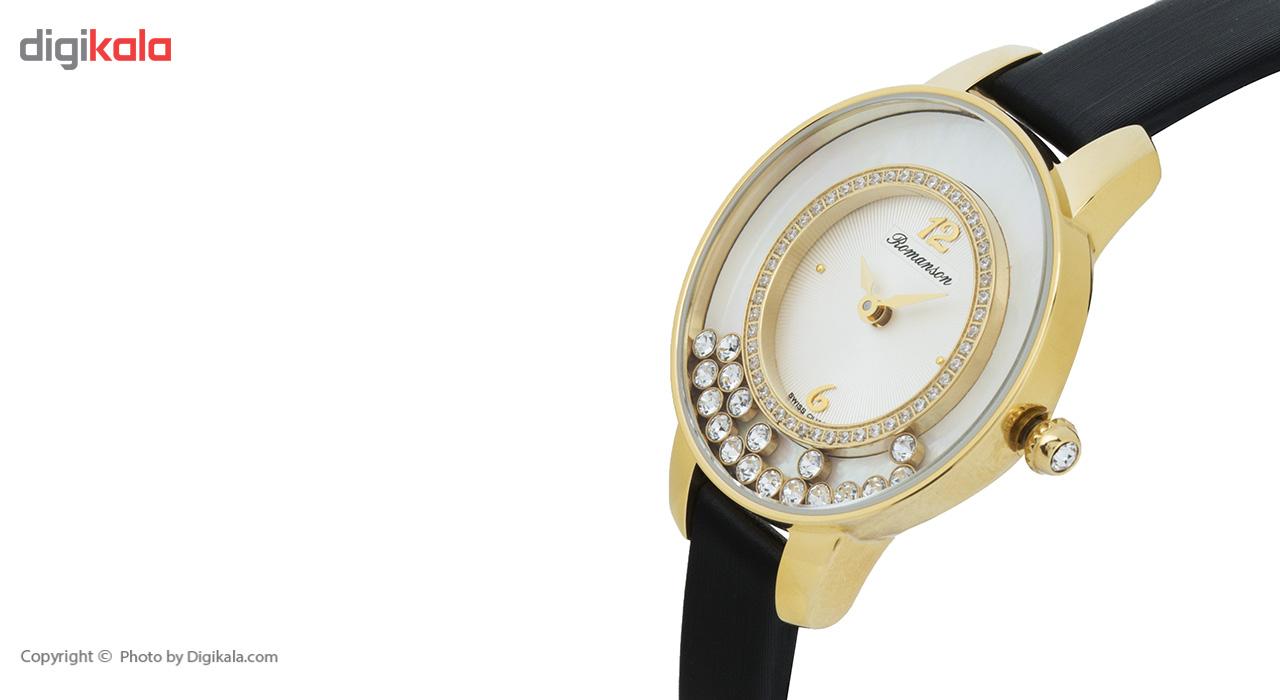 ساعت زنانه برند رومانسون مدل RL7A30QLBGA1R1