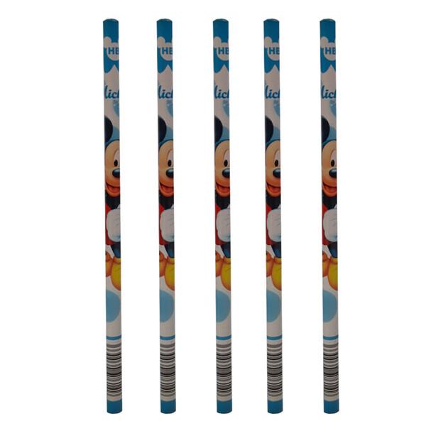 مداد مشکی مدل m07266 بسته 5 عددی