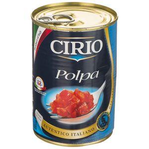 کنسرو گوجه فرنگی خرد شده چیریو مقدار 400 گرم