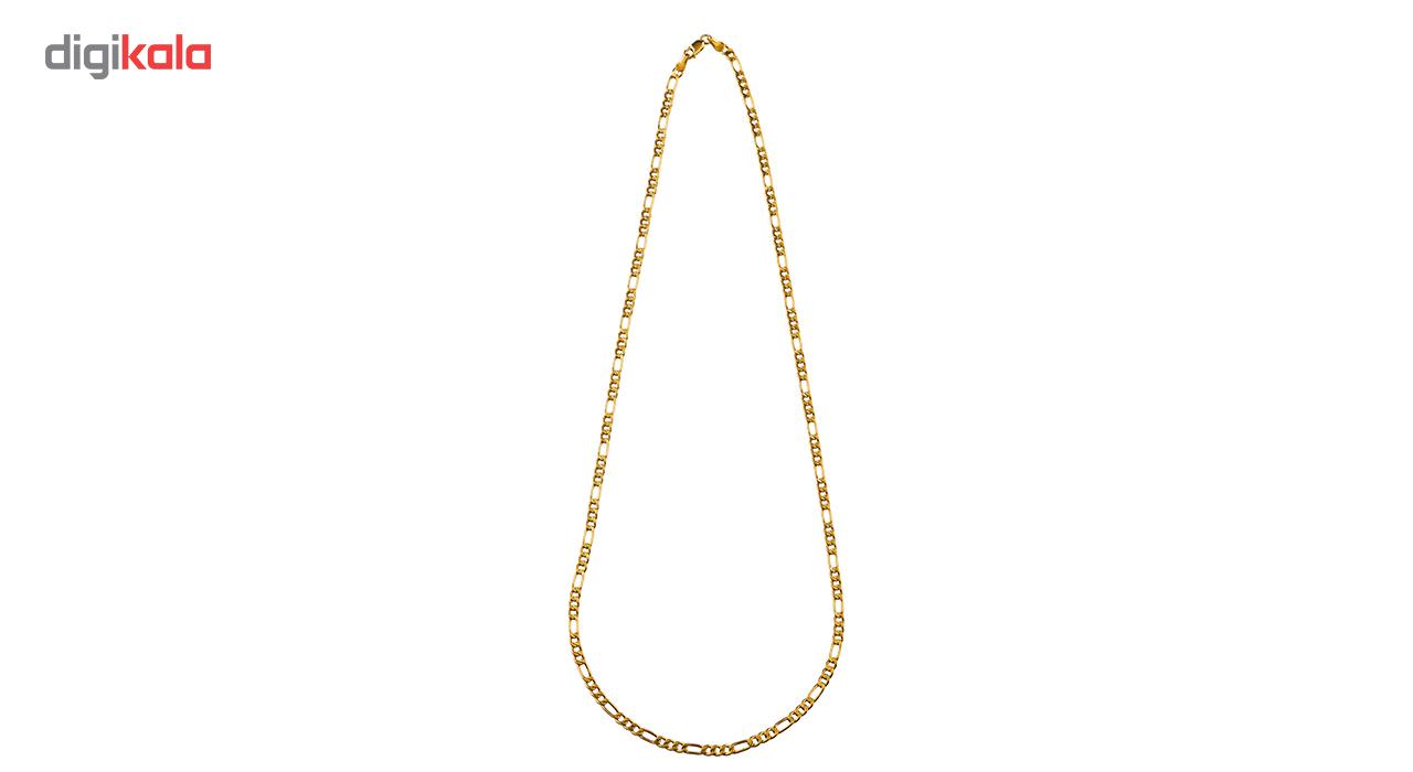 زنجیرطلا 18 عیار گالری طلا باران مدل فیگارو