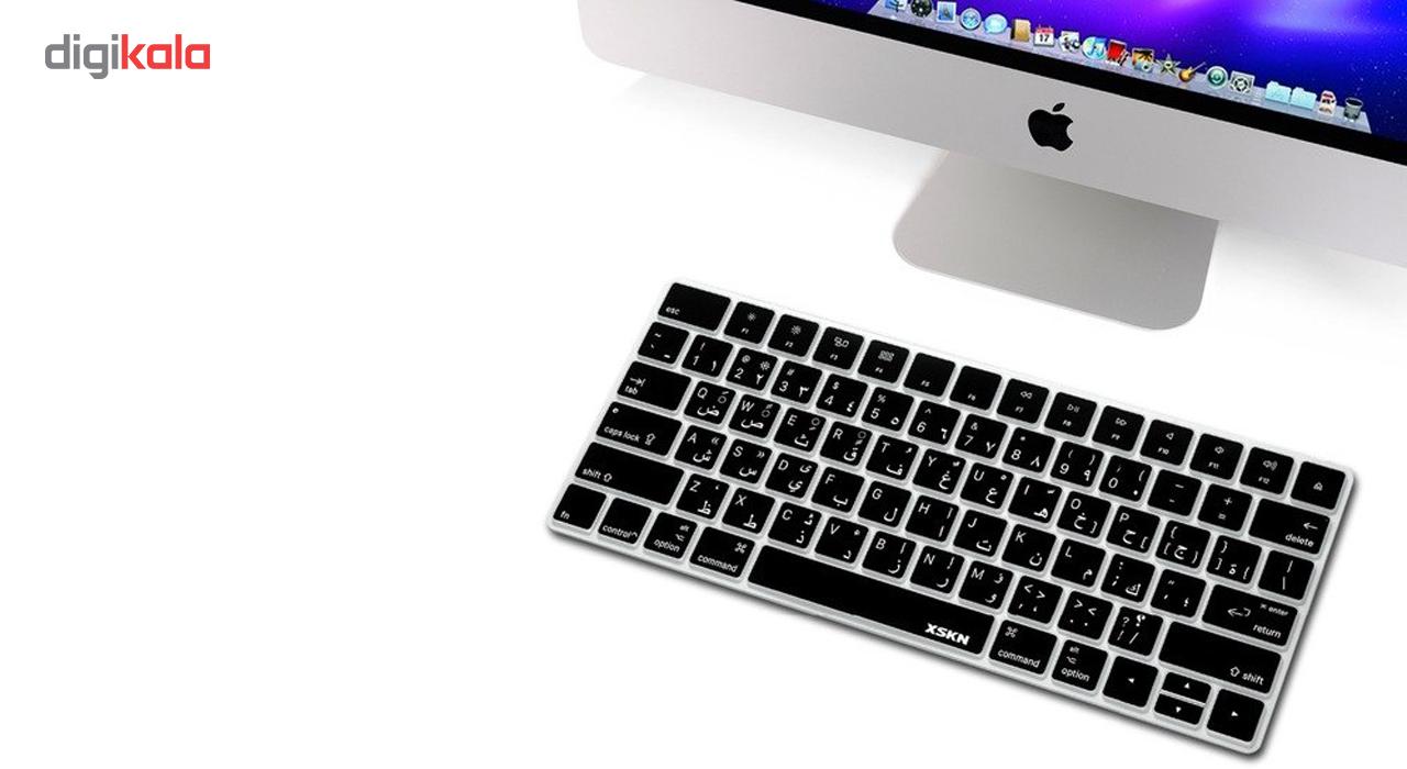 برچسب حروف فارسی کیبورد مدل black design main 1 1