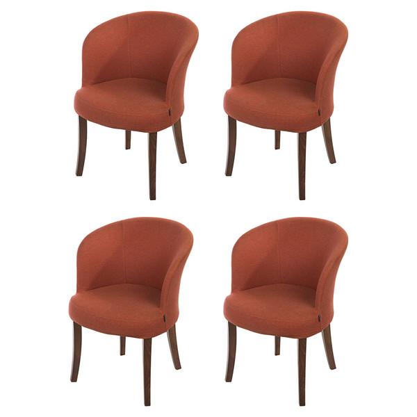 ست صندلی ایتال فوم مدل Gulf 001 چهار نفره