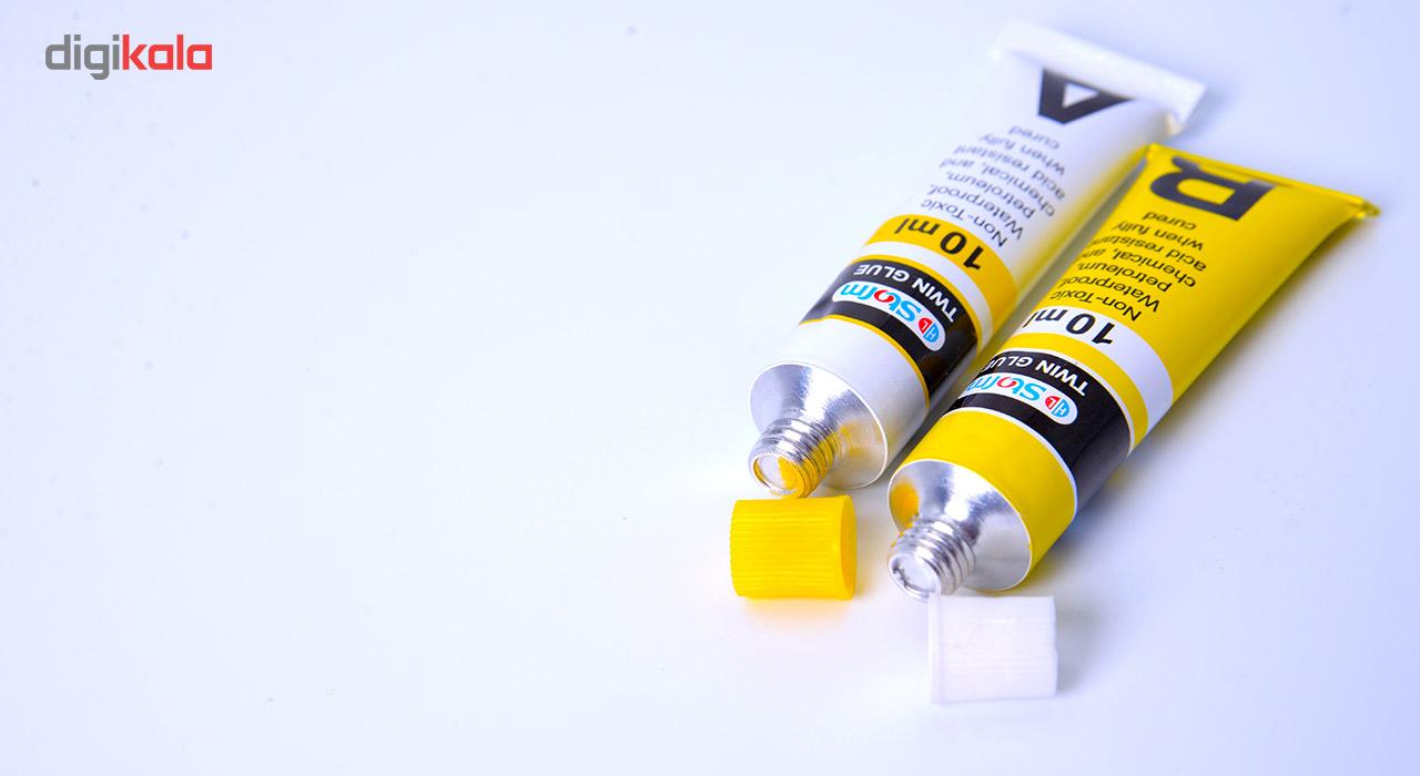 چسب دو قلو استورم مدل Twin Glue کد HL-626