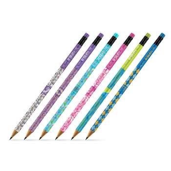 مداد مشکی استورم مدل Dream Garden کد HL-800 بسته 6 عددی