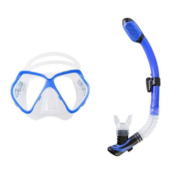 ماسک و اسنورکل شنای آروپک مدل Otter Blue