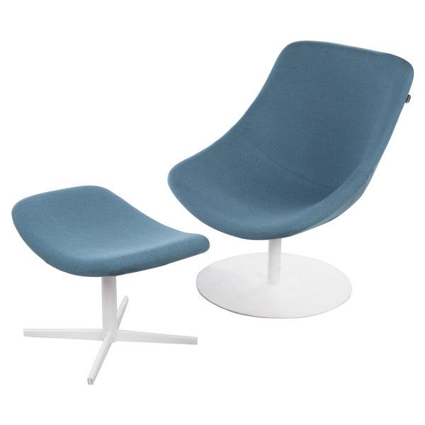 ست صندلی و زیر پایی ایتال فوم مدل Romano