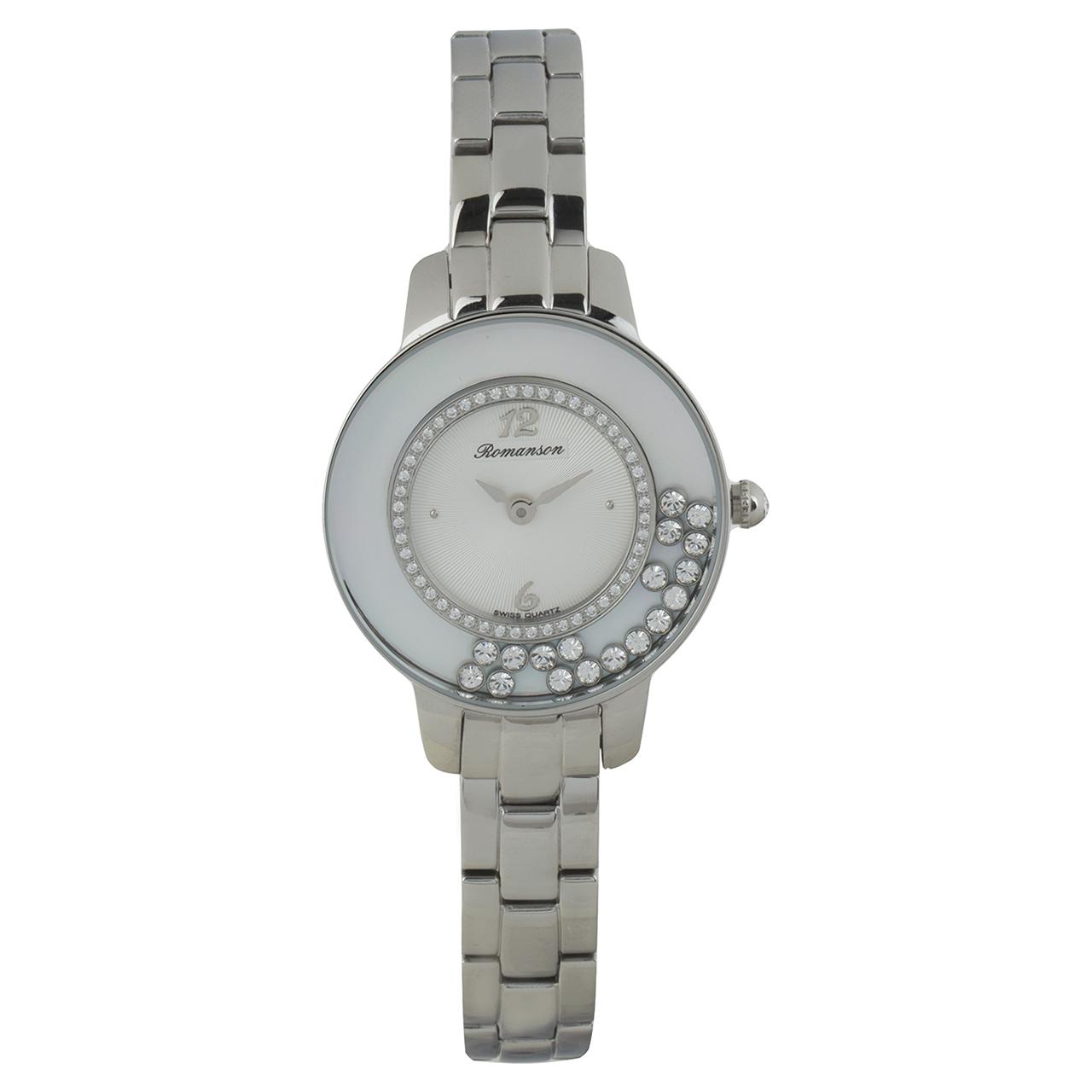 ساعت عقربه ای زنانه رومانسون مدل RM7A30QLWWA1R1