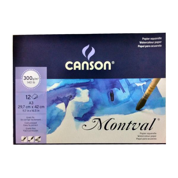 مقوا آبرنگ کانسون مدل montval سایز 30x42 سانتی متر