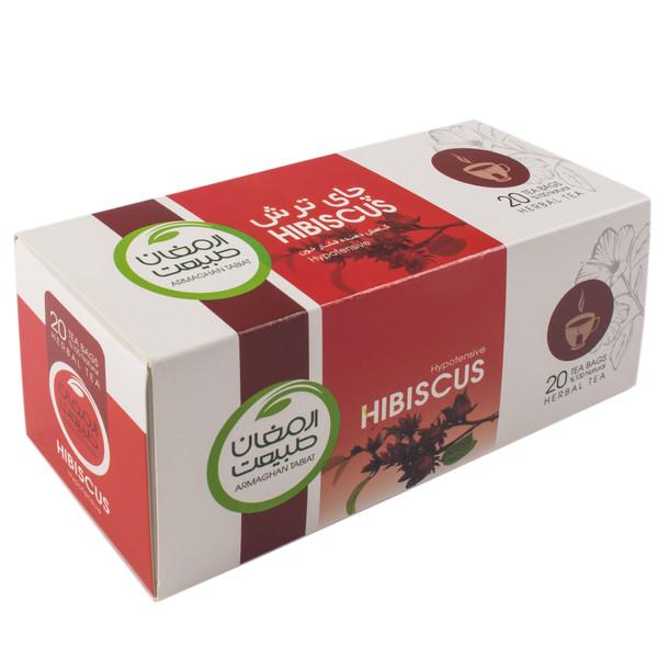 بسته دمنوش گیاهی ارمغان طبیعت  مدل چای ترش بسته 20 عددی