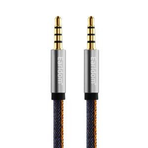 کابل انتقال صدا 3.5 میلی متری ارلدام مدل ET-AUX19 طول 1.6 متر