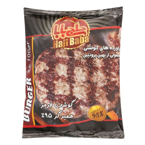 همبرگر 95% گوشت قرمز بهین پروتئین مقدار 500 گرم | Behin Protein 95% Fresh Hamburger 500 Gr