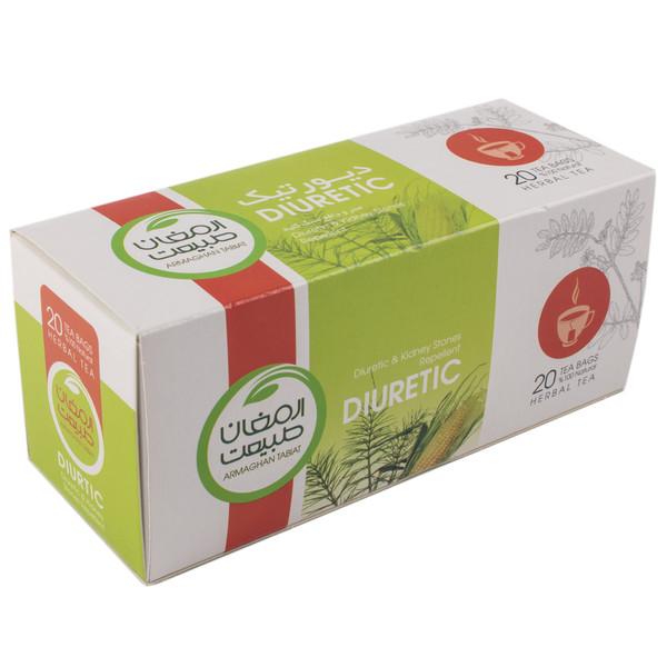 بسته دمنوش گیاهی ارمغان طبیعت مدل چای دیورتیک بسته 20 عددی