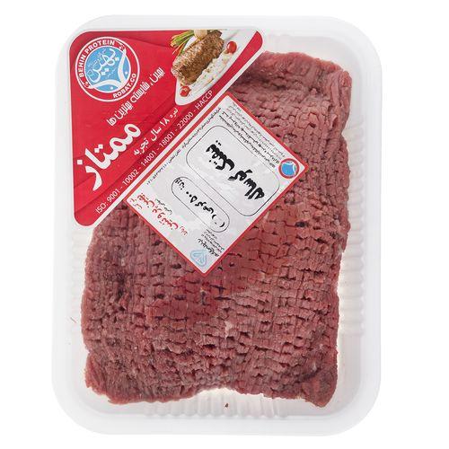 بیفتک گوساله بهین پروتئین مقدار 0.5 کیلوگرم