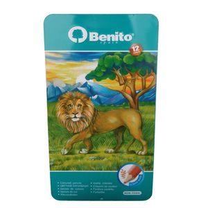 مداد رنگی 12 رنگ مدل Benito