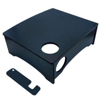 پایه نگه دارنده مانیتور مهدی یار مدل 002 به همراه بسته 4 عددی پایه نگه دارنده گوشی