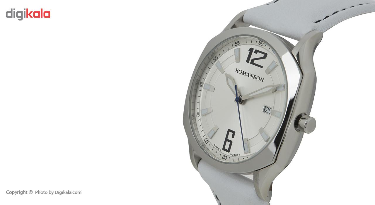 ساعت مچی عقربه ای مردانه رومانسون مدل TL1271MM1WAS2W