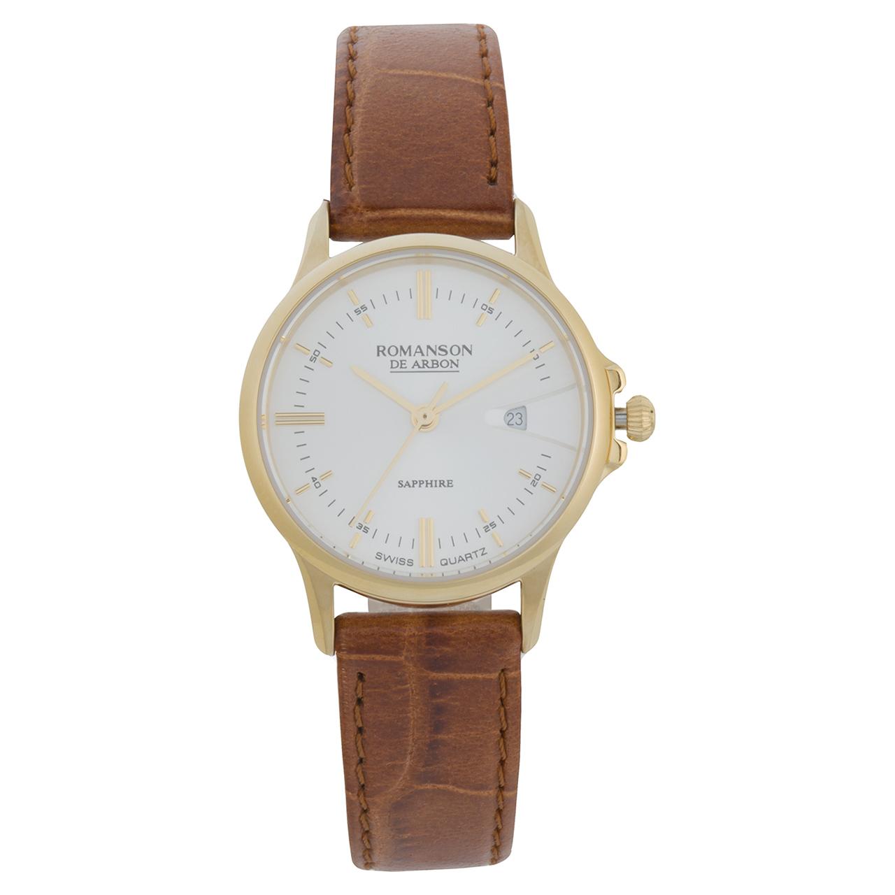 ساعت مچی عقربه ای زنانه رومانسون مدل CB5A10LYNGA1R2 38