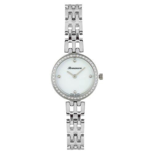 ساعت مچی عقربه ای زنانه رومانسون مدل RM7A07QLWWM1R1