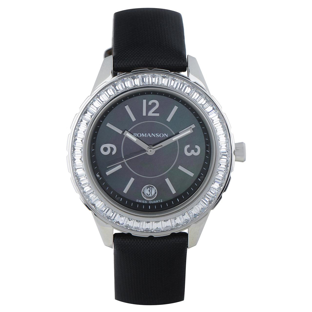 ساعت مچی عقربه ای زنانه رومانسون مدل RL0360QU1WM32W 27