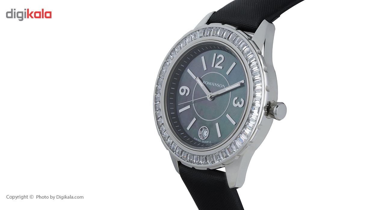 ساعت مچی عقربه ای زنانه رومانسون مدل RL0360QU1WM32W