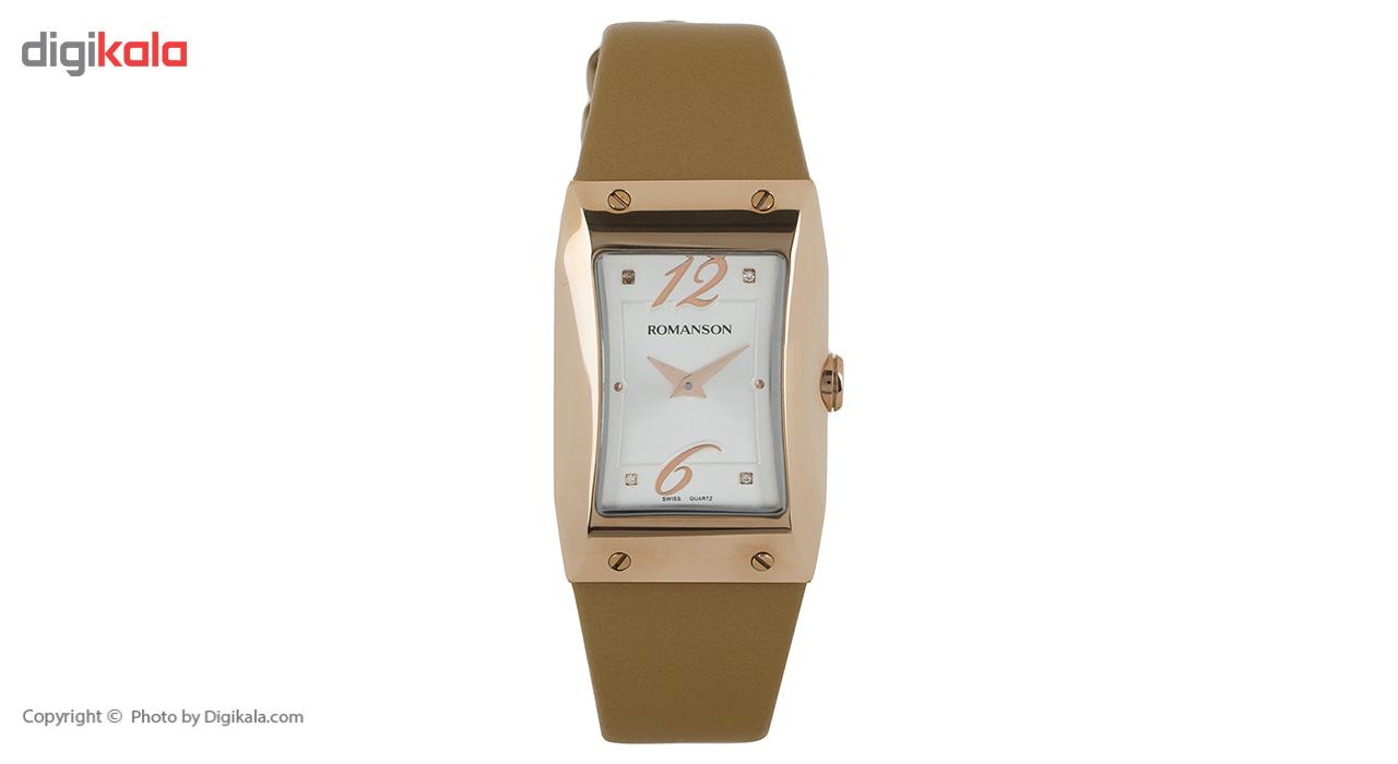 ساعت عقربه ای زنانه رومانسون مدل RL0359LL1GAS1G