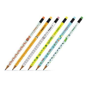 مداد مشکی استورم مدل  Animals کد HL-809 بسته 6 عددی