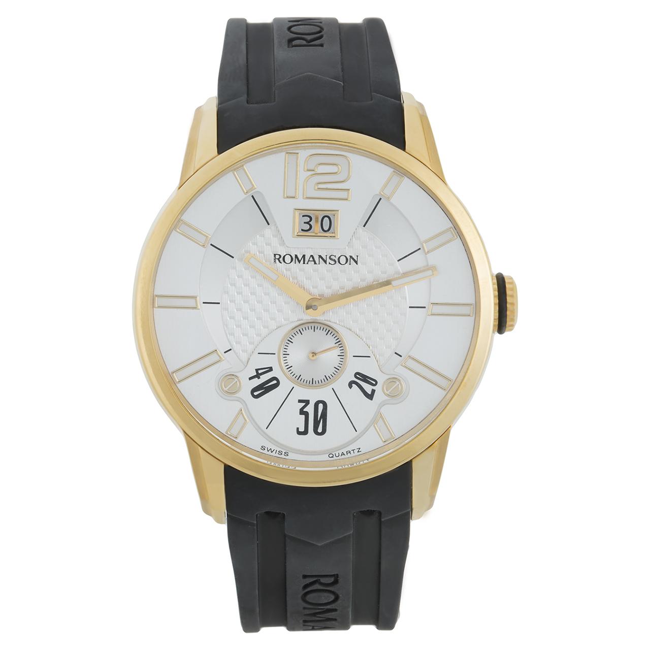 ساعت مچی عقربه ای مردانه رومانسون مدل TL9213MM1GAS1G