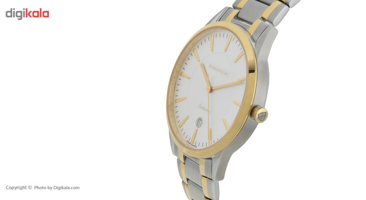 ساعت مچی عقربه ای مردانه رومانسون مدل TM3261MM1CAS1G