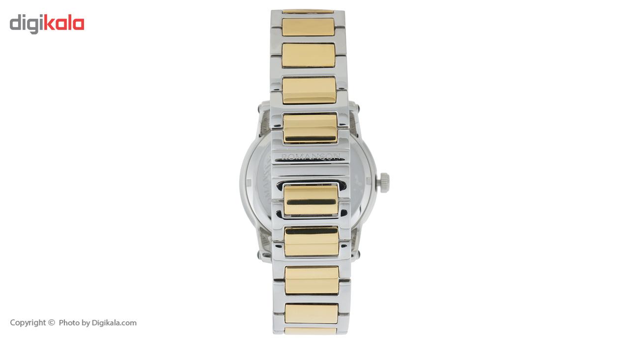 ساعت مچی عقربه ای مردانه رومانسون مدل TM0334MM1CBS5B