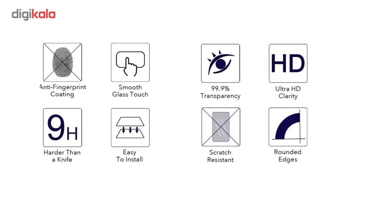 محافظ صفحه نمایش شیشه ای کینگ کونگ مدل Hyper Fullcover مناسب برای گوشی هواوی Honor P10 Lite main 1 10