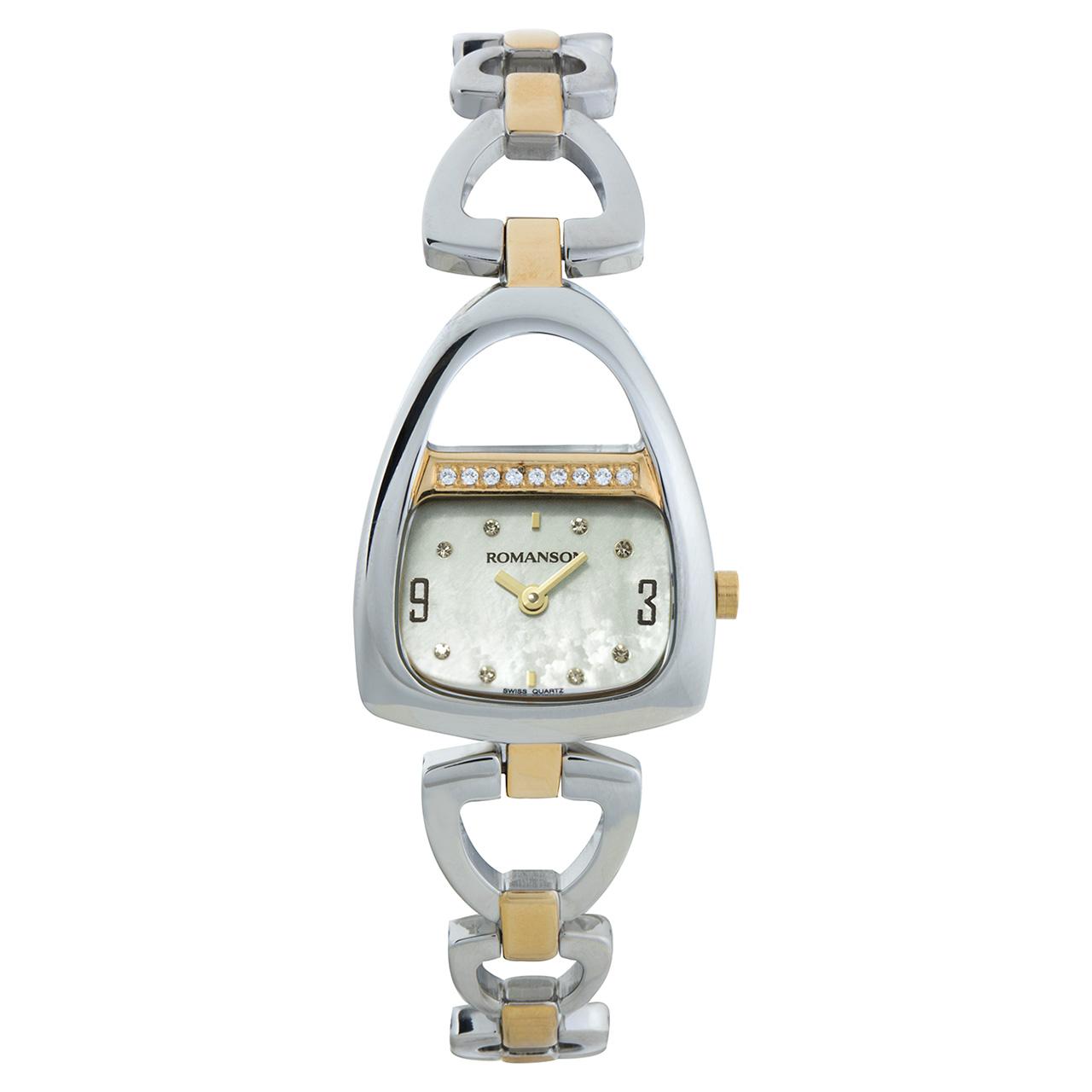 ساعت مچی عقربه ای زنانه رومانسون مدل RM1207QL1CM11G