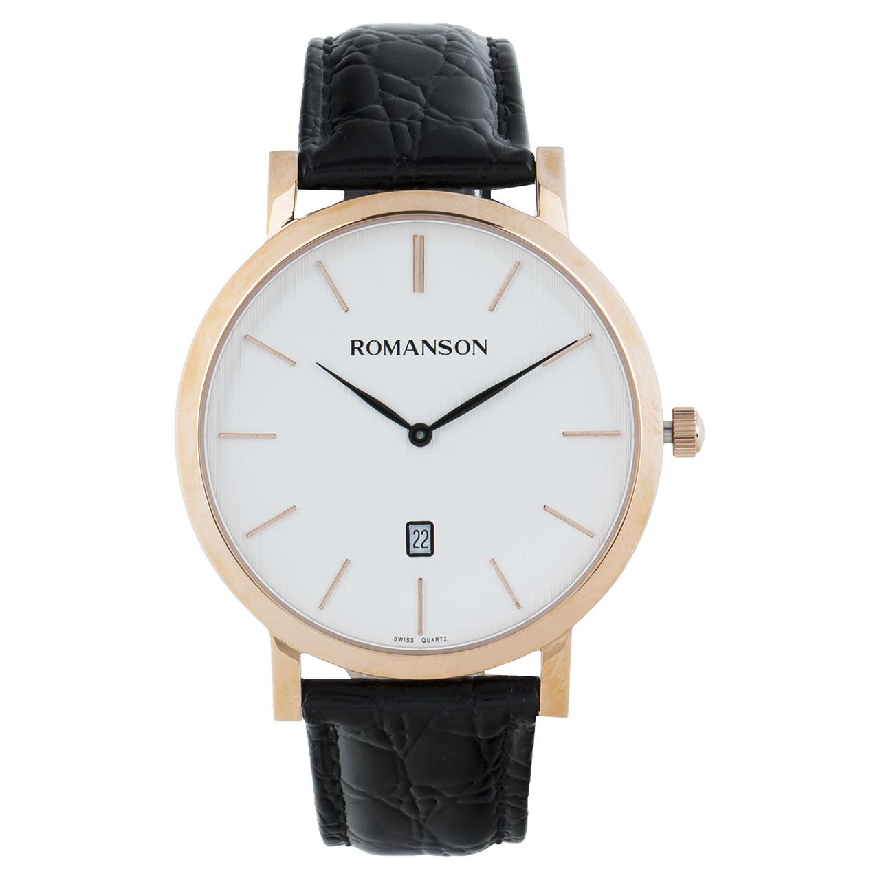 ساعت مچی عقربه ای مردانه رومانسون مدل TL5507CX1RBS6B