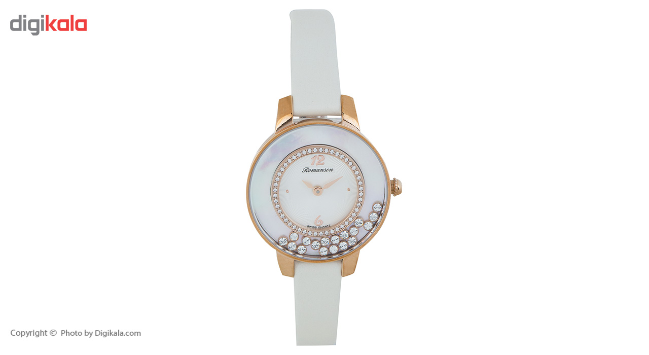 ساعت زنانه برند رومانسون مدل RL7A30QLIRA1R1