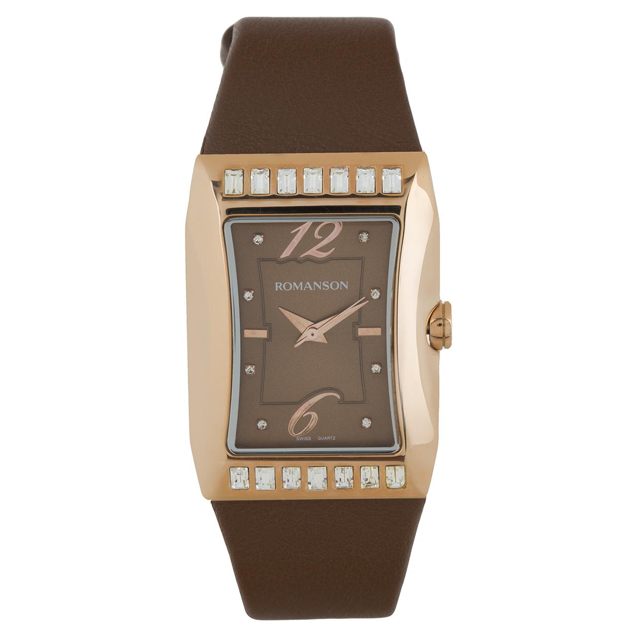 ساعت مچی عقربه ای زنانه رومانسون مدل RL0358TL1RAB6R