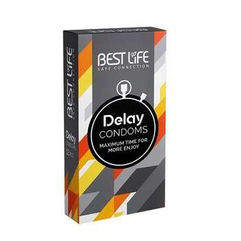 کاندوم بست لایف مدل Delay بسته 12 عددی