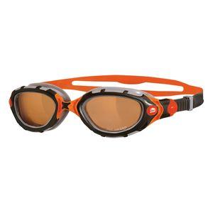 عینک شنا زاگز مدل Predator Flex Polarized Ultra - Orange/Black