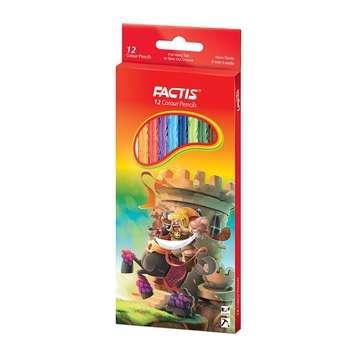 مداد رنگی 12 رنگ فکتیس کد 701-2