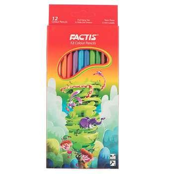 مداد رنگی 12 رنگ فکتیس کد 701-3
