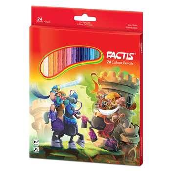 مداد رنگی 24 رنگ فکتیس کد 702-2