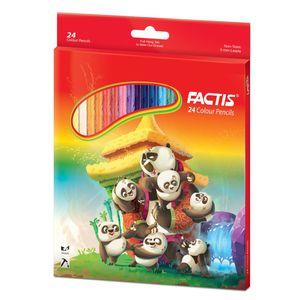 مداد رنگی 24 رنگ فکتیس کد 702-3