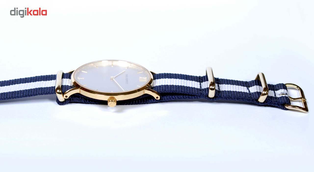ساعت مچی عقربهای پاول هویت مدل Sailor Line Gold Perlon