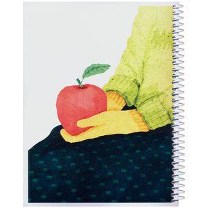 دفتر مشق ژوست مدل کژوال طرح سیب سرخ